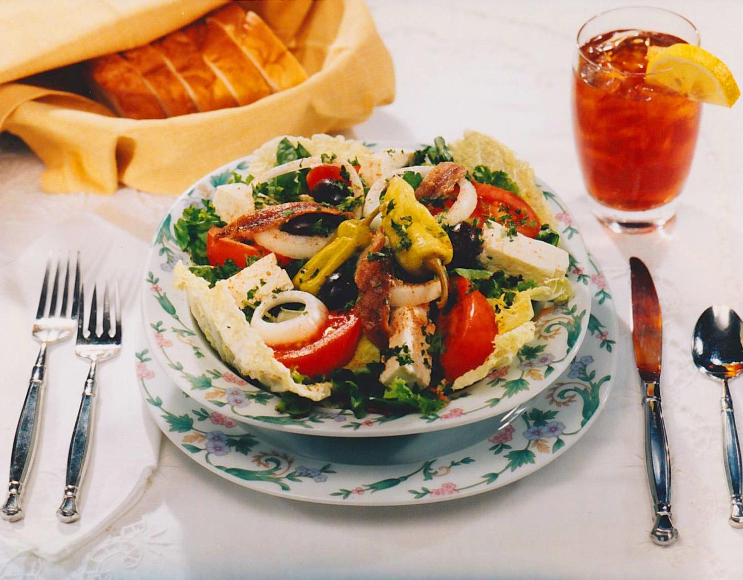 Gazebo Room Classic Greek Salad Gazebo Room Salad Dressings
