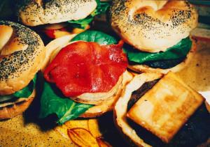Gazebo Room Restaurant Grilled Portobello Burgers