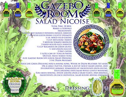 Gazebo Room Salad Nicoise Gazebo Room Salad Dressings