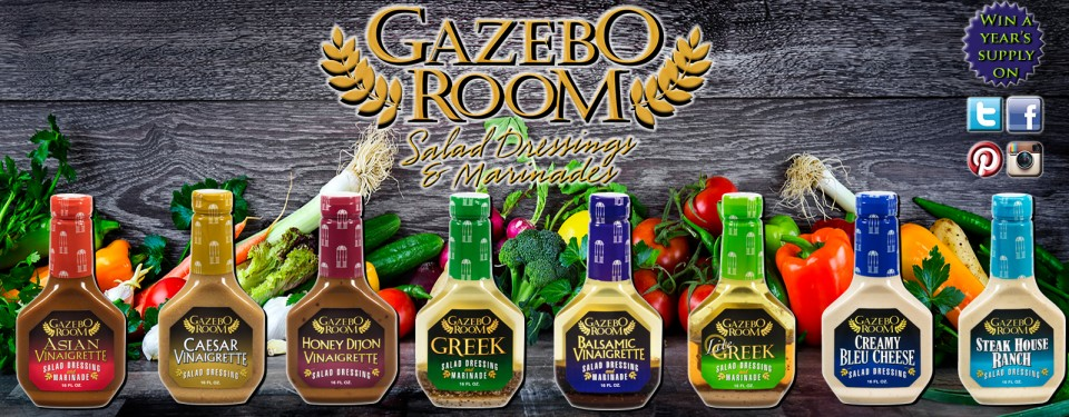 Gazebo Room Greek Salad Dressings and Marinades